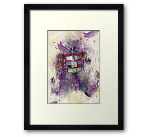 G1 - Optimus Prime Framed Print