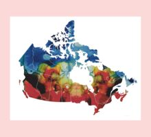 Canada - Canadian Map By Sharon Cummings Kids Clothes