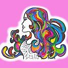 Rainbow Nouveau  by Kellyanne