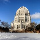 Baha'i House of Worship for the North American Continent by Terence Russell