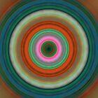 Vivid Peace - Circle Art By Sharon Cummings by Sharon Cummings
