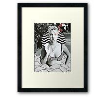 d_b Framed Print
