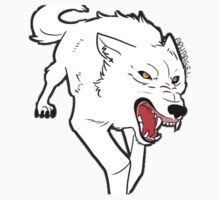 Wolfs Rain - Kiba wolf  by aph-bagel