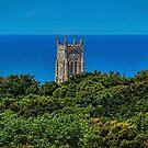 Cromer Church Tower St Peter & St Paul Norfolk by Avril Harris