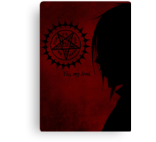 Sebastian Michaelis Canvas Print