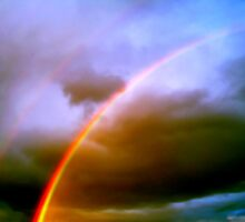Dos Rainbows by Roger Sampson