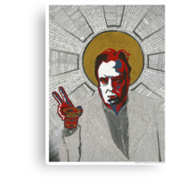 Christopher Hitchens Canvas Print