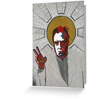Christopher Hitchens Greeting Card
