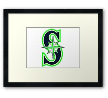 Mariners Seahawks Framed Print