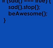 beAwesome Code Black by tinaodarby