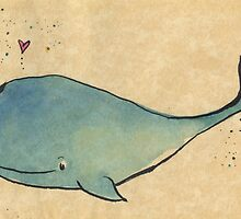 Happy Whale by inkmaid