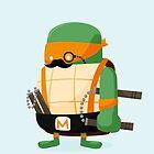 Michelangelo in Disguise by mykowu