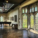 Medieval Wishing ( 2 ) Oh' to hear a Piano in this Hall.. by Larry Lingard-Davis