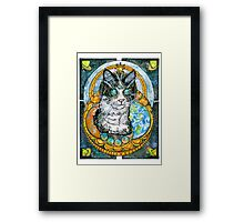 Spatial Anomaly Framed Print