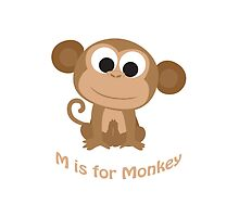 M is for Monkey by Eggtooth