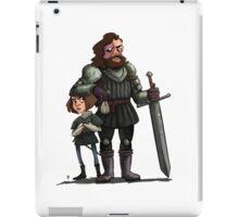 Arya and The Hound iPad Case/Skin
