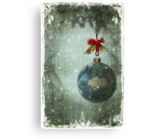 Peace on earth... Canvas Print