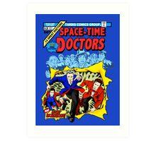 Space-Time Doctors Art Print