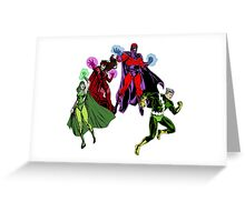 Magneto's Family Greeting Card