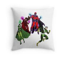 Magneto's Family Throw Pillow