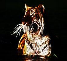 Neon Tiger by artonall