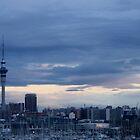 Auckland Skyline by hulkingrach