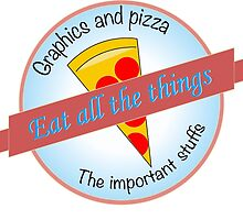 Graphics and Pizza by bensparrow