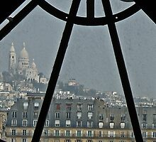 D'Orsay views the Sacre Coeur  by Andy Duffus