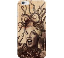 Carmen Miranda Has A (Octo)Pussy iPhone Case/Skin