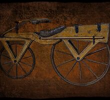 "Laufmaschine (""running machine""),ARCHETYPE VINTAGE BICYCLE from around 1820 PICTURE by ✿✿ Bonita ✿✿ ђєℓℓσ"