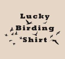 Lucky birding shirt by Australian Birding Gift Store