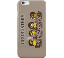 Grubusters iPhone Case/Skin