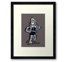 Bendercop Framed Print