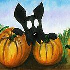 Scottie Dog 'Choosing a Pumpkin' by archyscottie