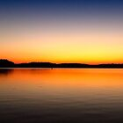 Sunrise at Lake Lanier  by Evelyn Laeschke