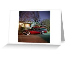 Old Buick Special  Greeting Card