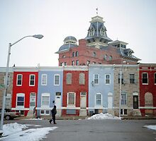 Rowhomes in Baltimore by DanielRegner