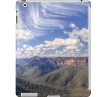 At Govetts Leap iPad Case/Skin