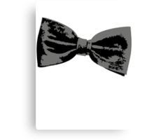 Bow Tie (inclined right) Canvas Print