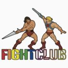 Filmation Fight Club: Blackstar vs He-Man by Anna Welker