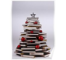 "XMAS BOOK TREE ~ OMG Sold  ""193 "" of these YAY !!! Poster"