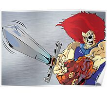 Lion-O's Last Stand Poster