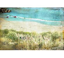 Colours by the Sea Photographic Print