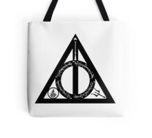 Bookly Hallows Tote Bag