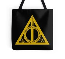 Bookly Hallows - Gold Tote Bag