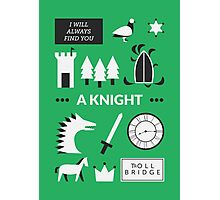 Once Upon A Time - A Knight Photographic Print