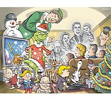 Christmas Classic characters Photographic Print