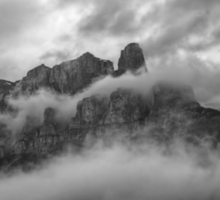 Castle in the Clouds Sticker