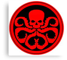 Marvel - Hail Hydra Logo Canvas Print