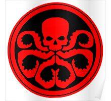 Marvel - Hail Hydra Logo Poster